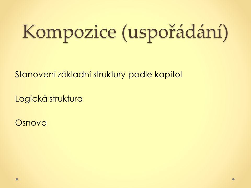 Kompozice (uspořádání)