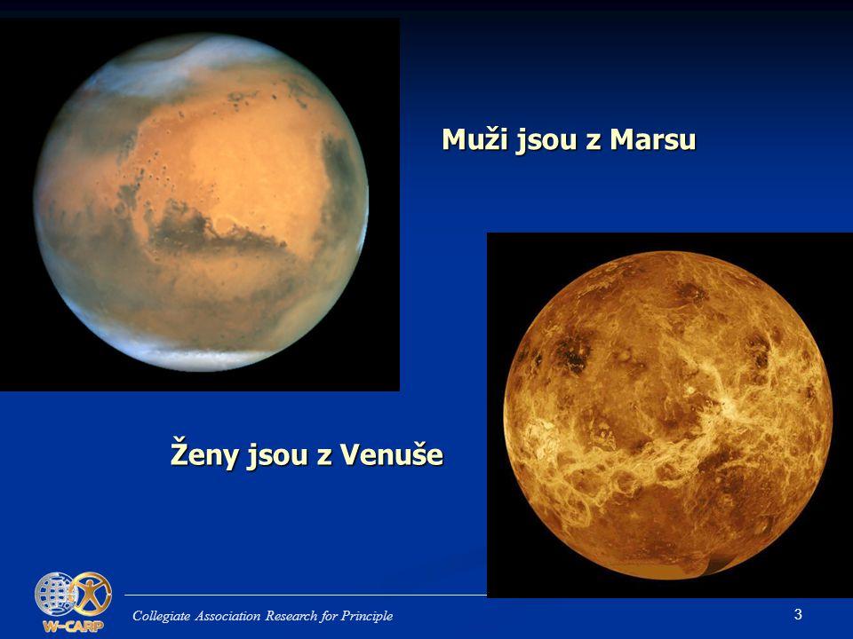Muži jsou z Marsu Ženy jsou z Venuše