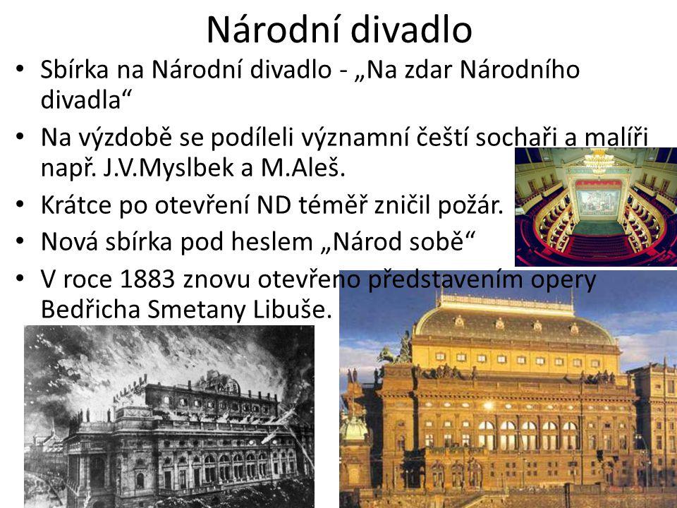 """Národní divadlo Sbírka na Národní divadlo - """"Na zdar Národního divadla"""