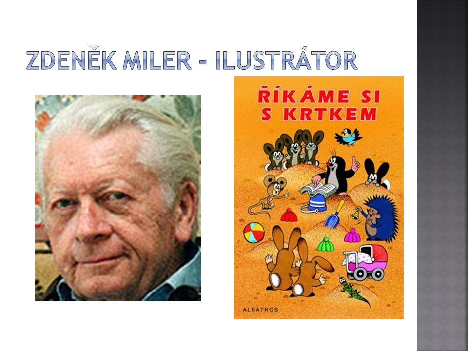 Zdeněk Miler - ilustrátor