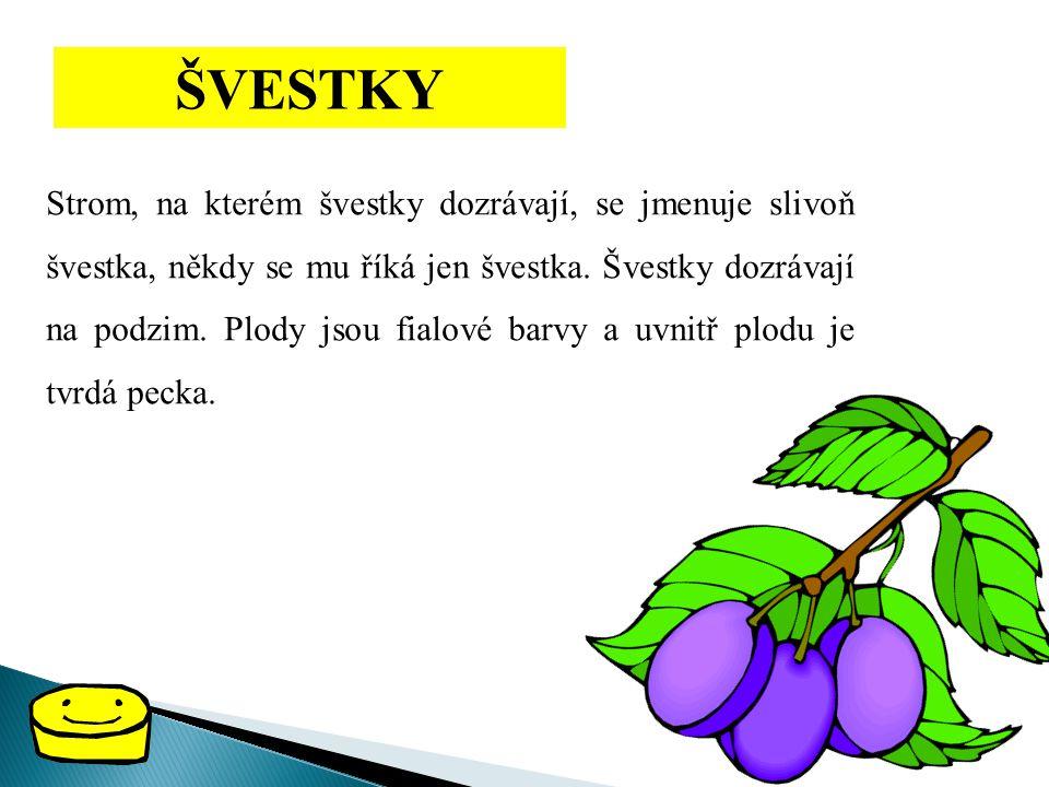 ŠVESTKY