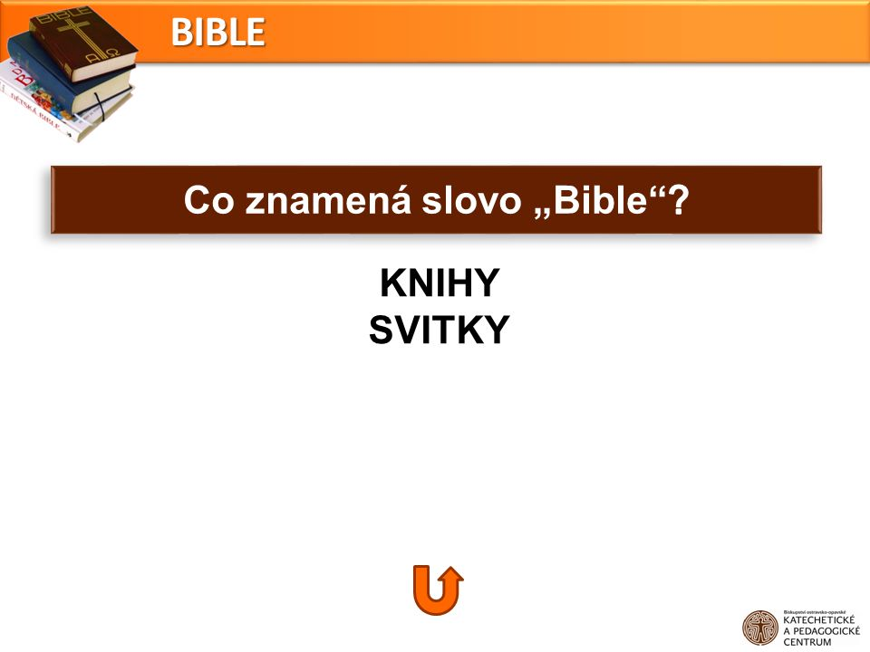 "Co znamená slovo ""Bible"