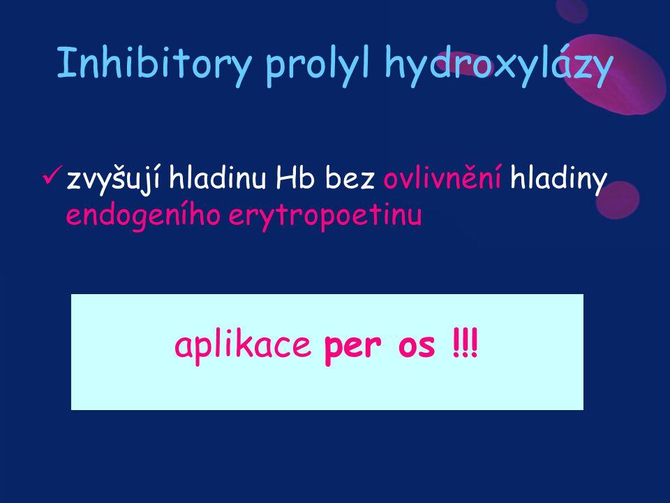 Inhibitory prolyl hydroxylázy