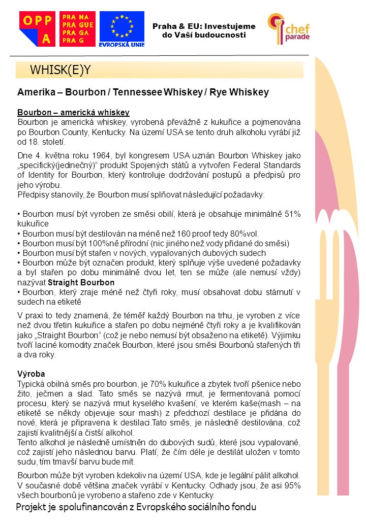 WHISK(E)Y 52 Amerika – Bourbon / Tennessee Whiskey / Rye Whiskey