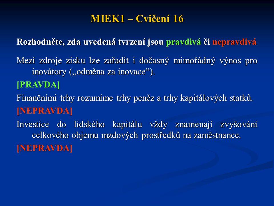MIEK1 – Cvičení 16