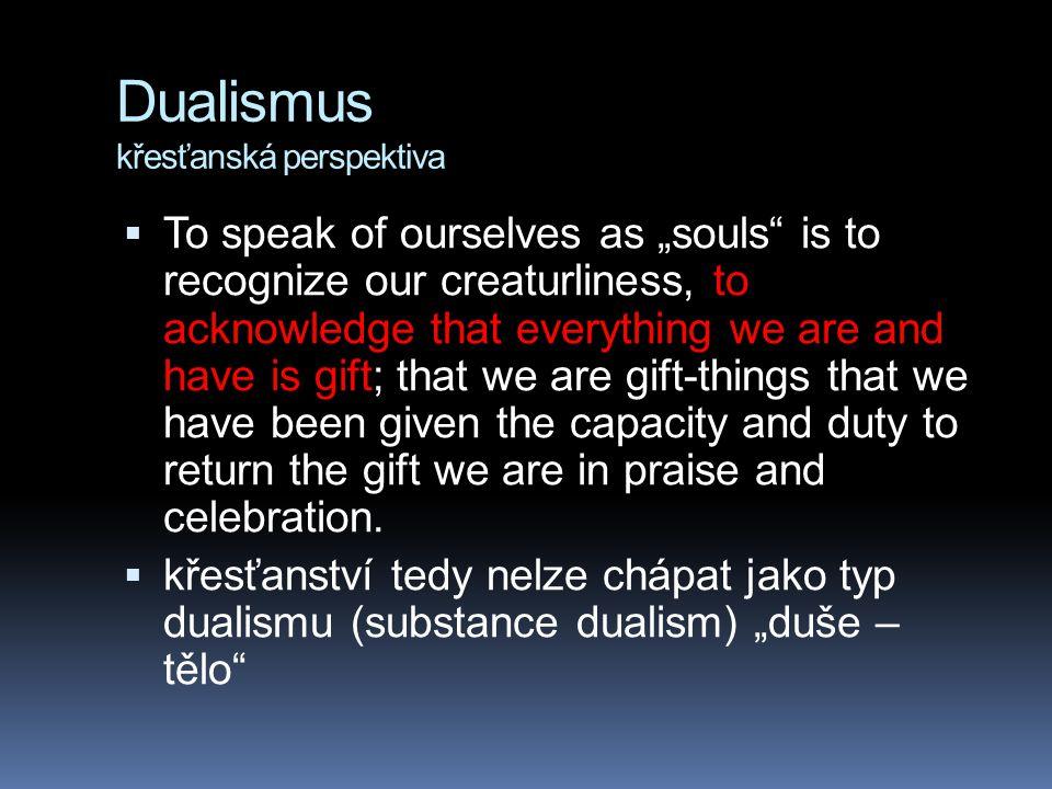 Dualismus křesťanská perspektiva