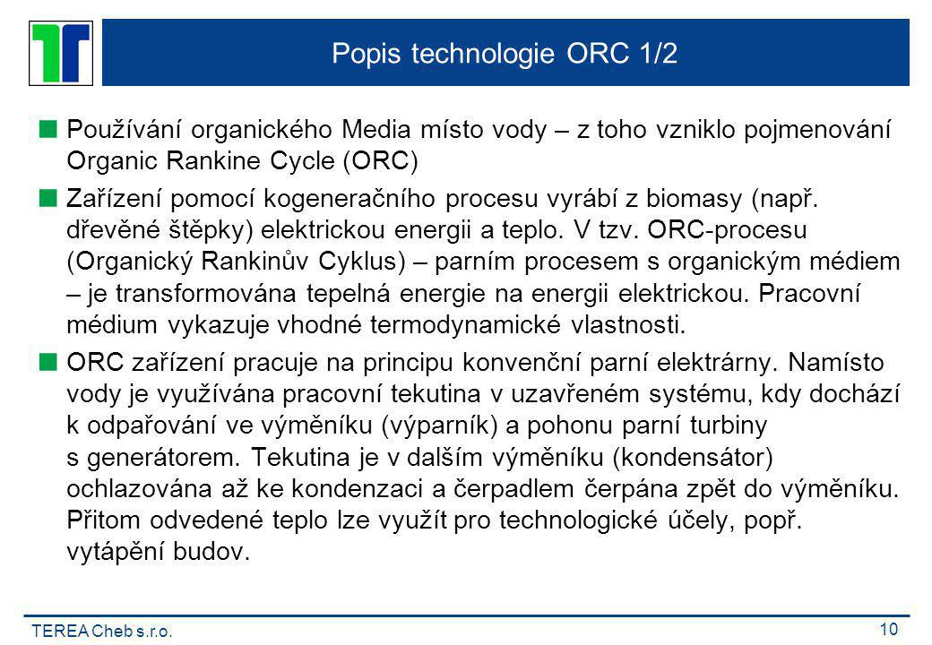 Popis technologie ORC 1/2