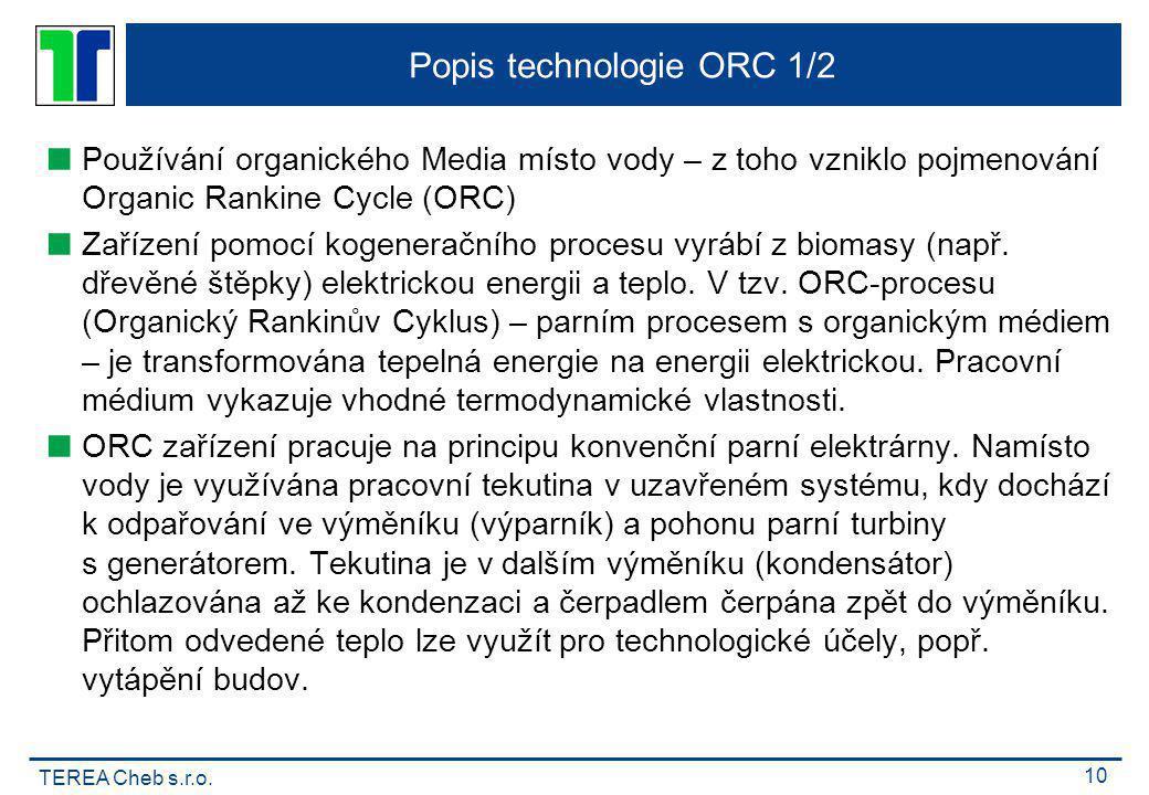 Popis technologie ORC 1/2