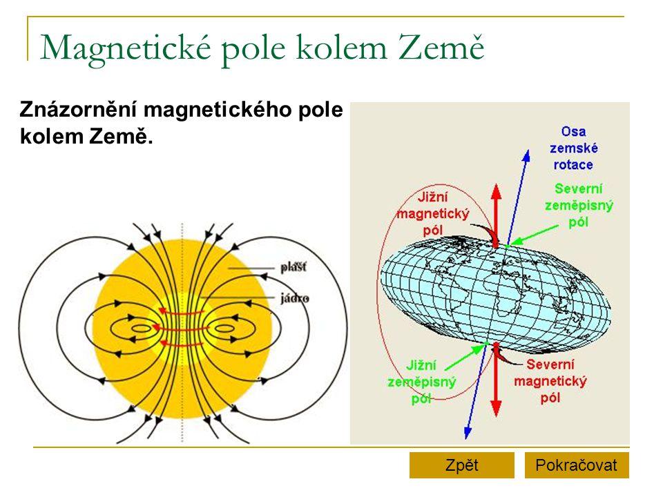 Magnetické pole kolem Země