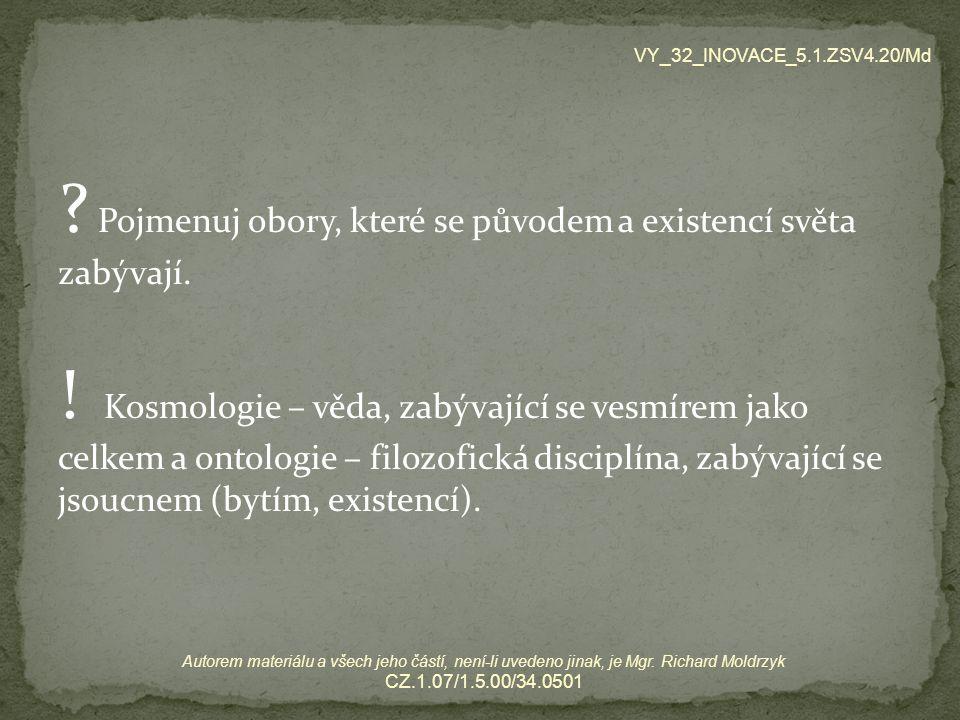 VY_32_INOVACE_5.1.ZSV4.20/Md