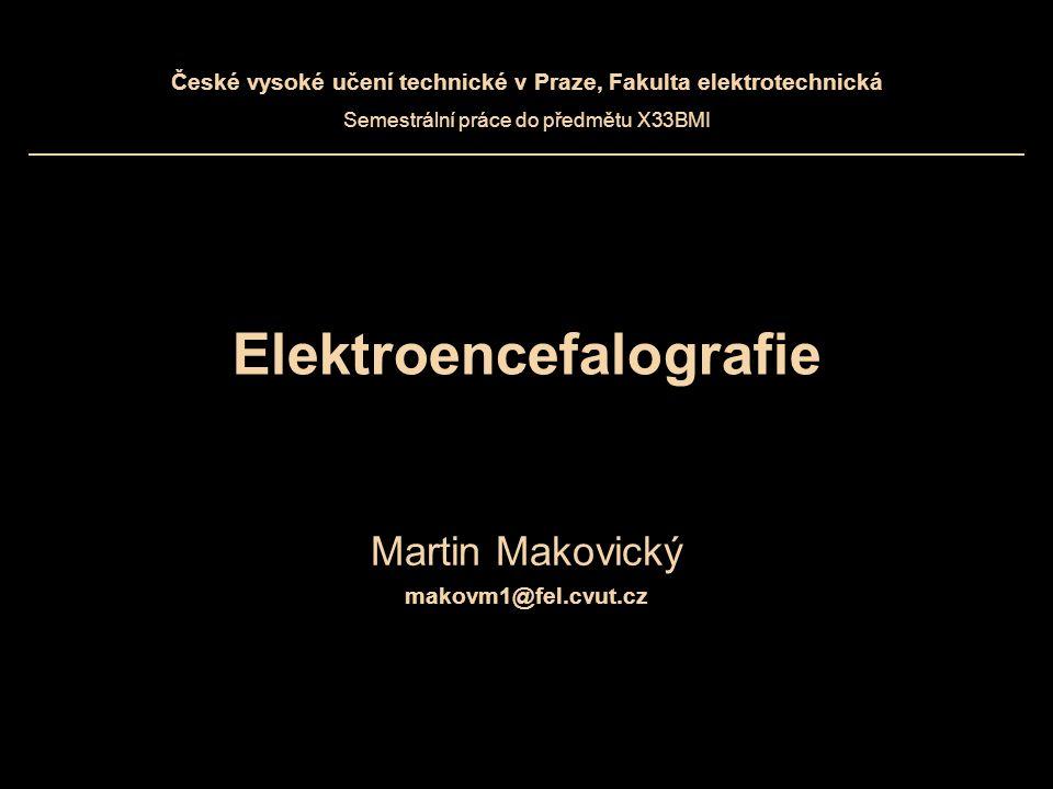 Elektroencefalografie