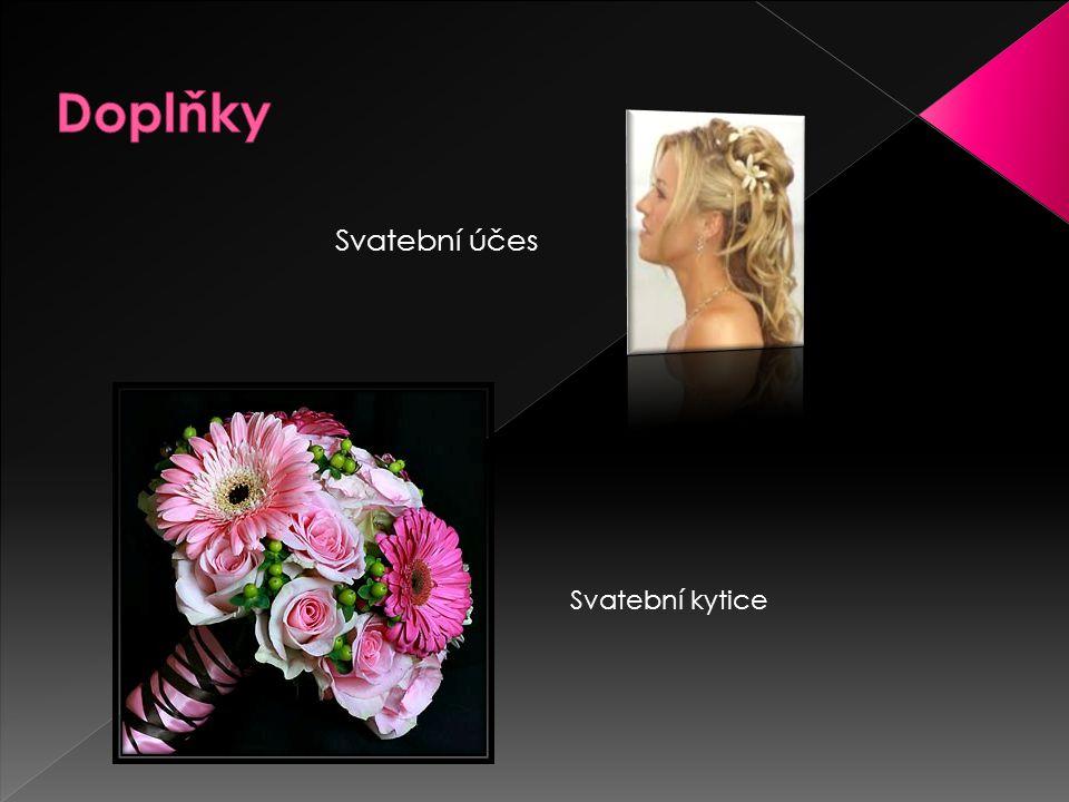 Doplňky Svatební účes Svatební kytice