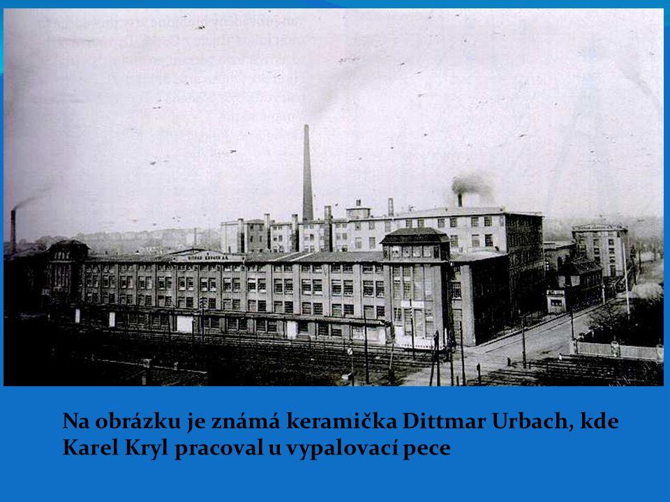 Na obrázku je známá keramička Dittmar Urbach, kde