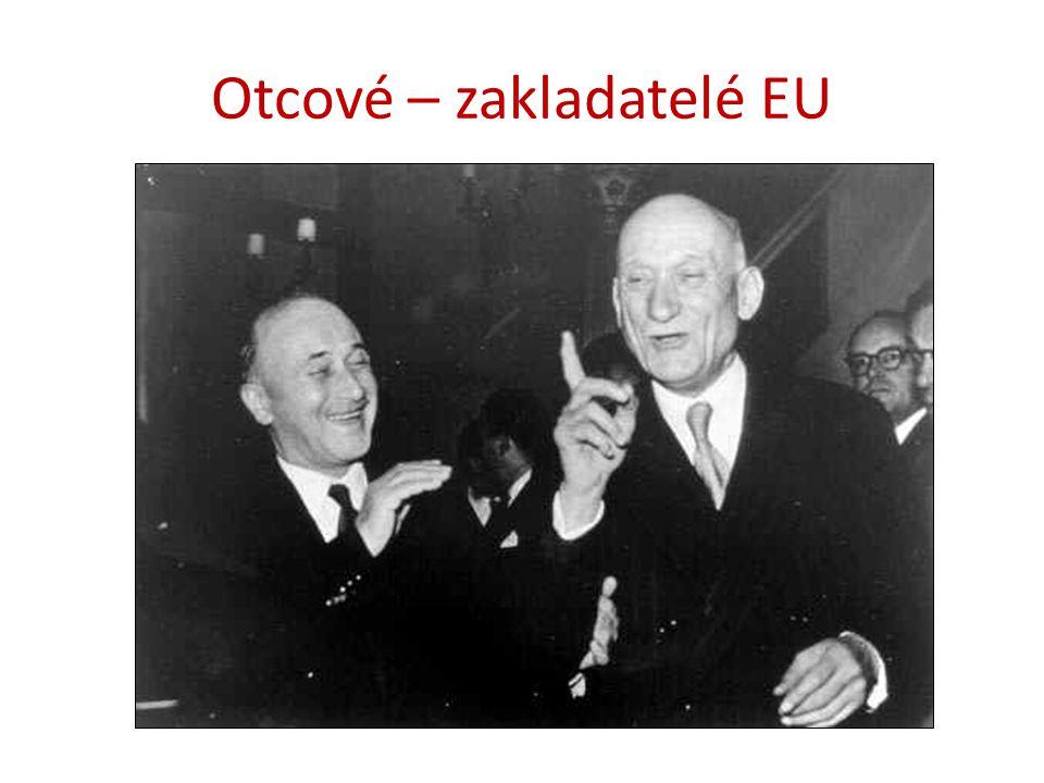 Otcové – zakladatelé EU