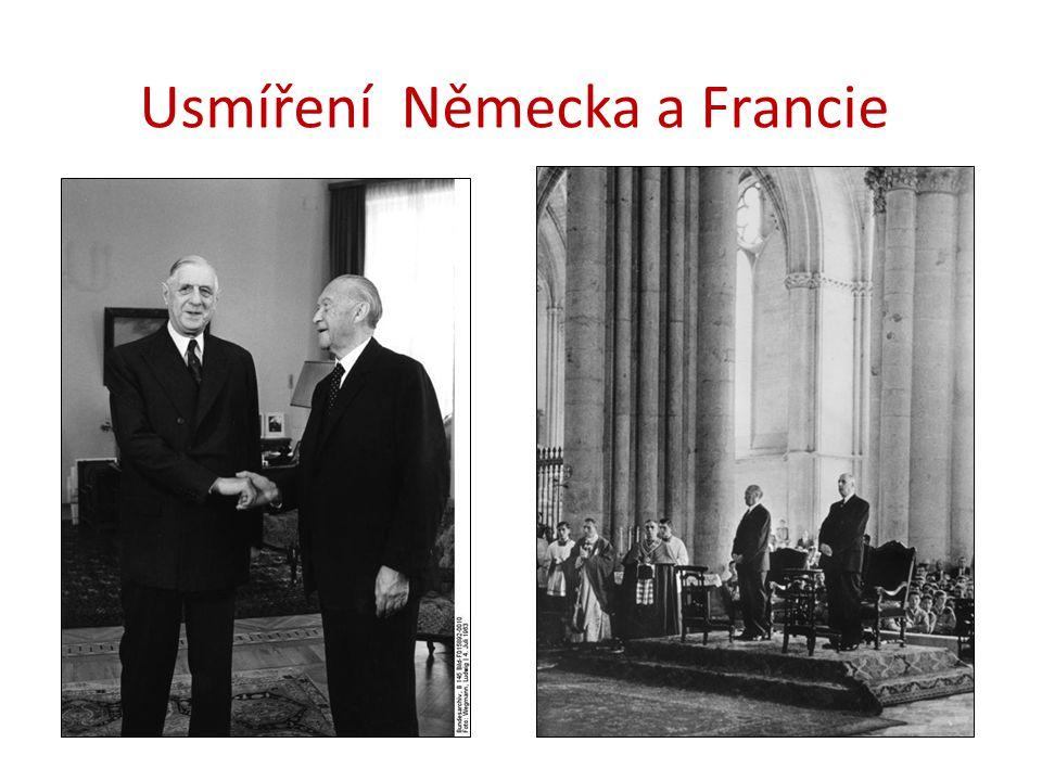 Usmíření Německa a Francie