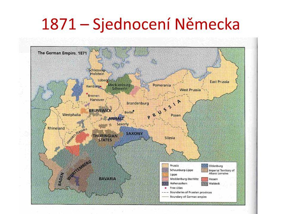 1871 – Sjednocení Německa