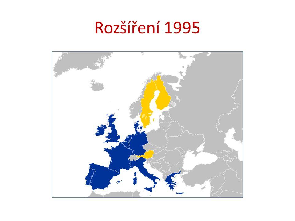 Rozšíření 1995