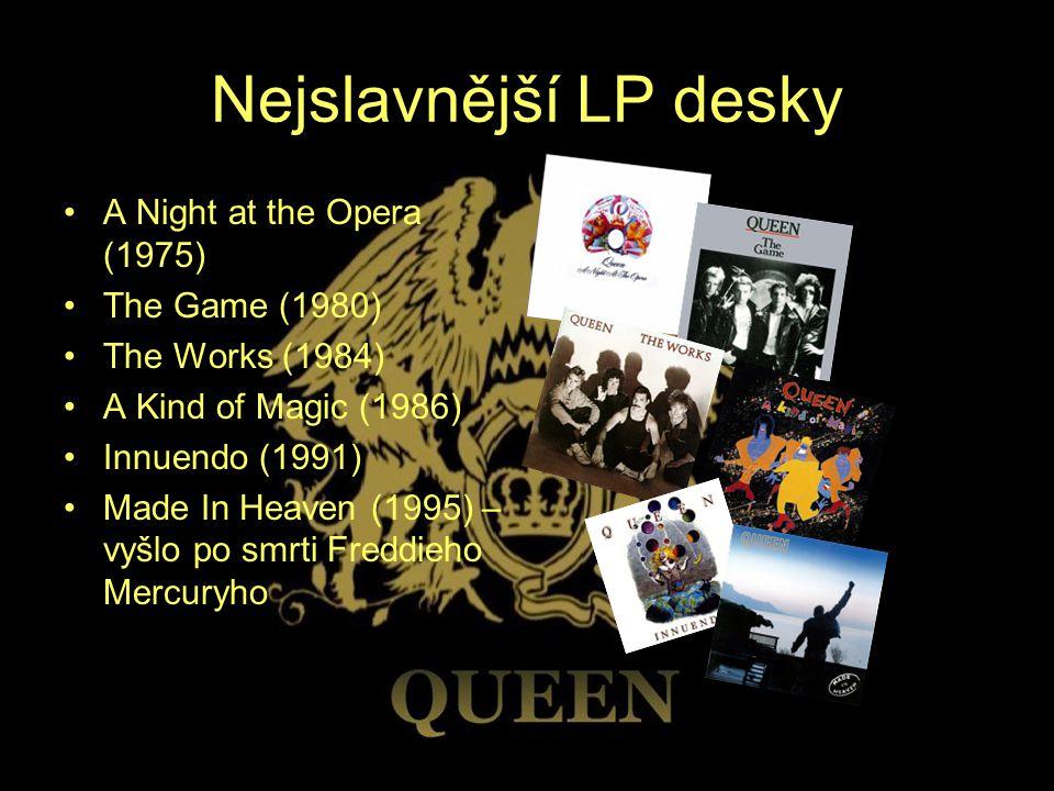 Nejslavnější LP desky A Night at the Opera (1975) The Game (1980)