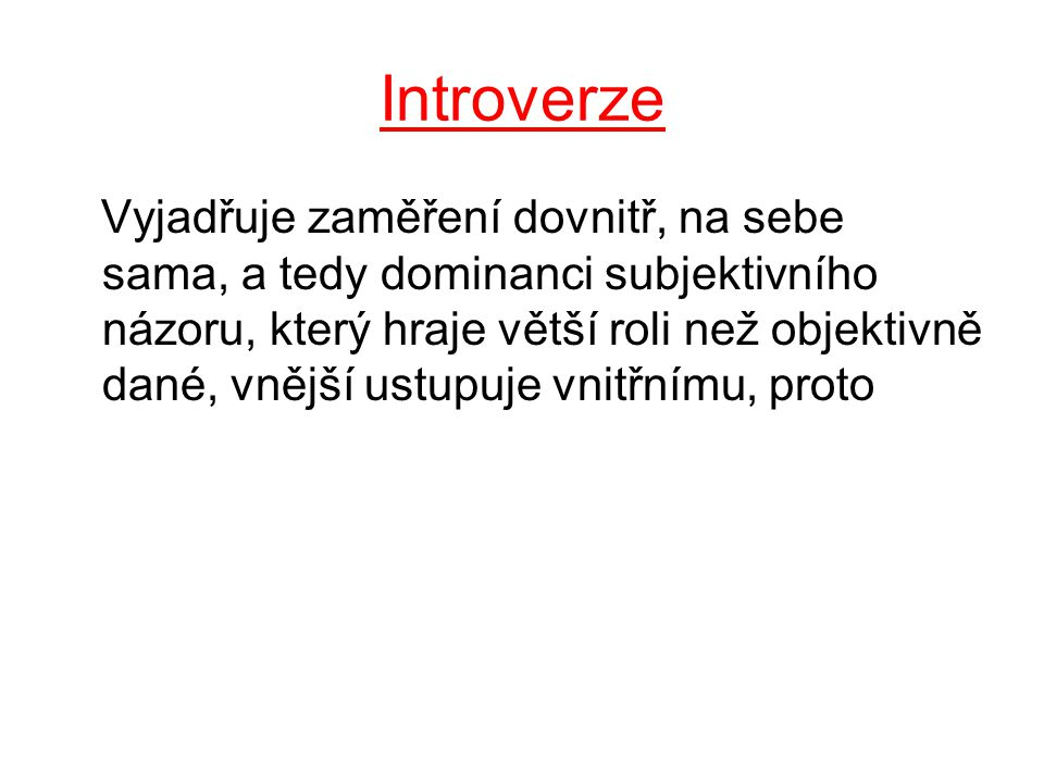 Introverze