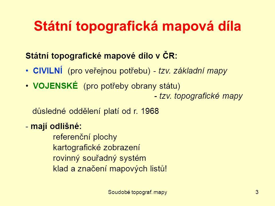 Státní topografická mapová díla