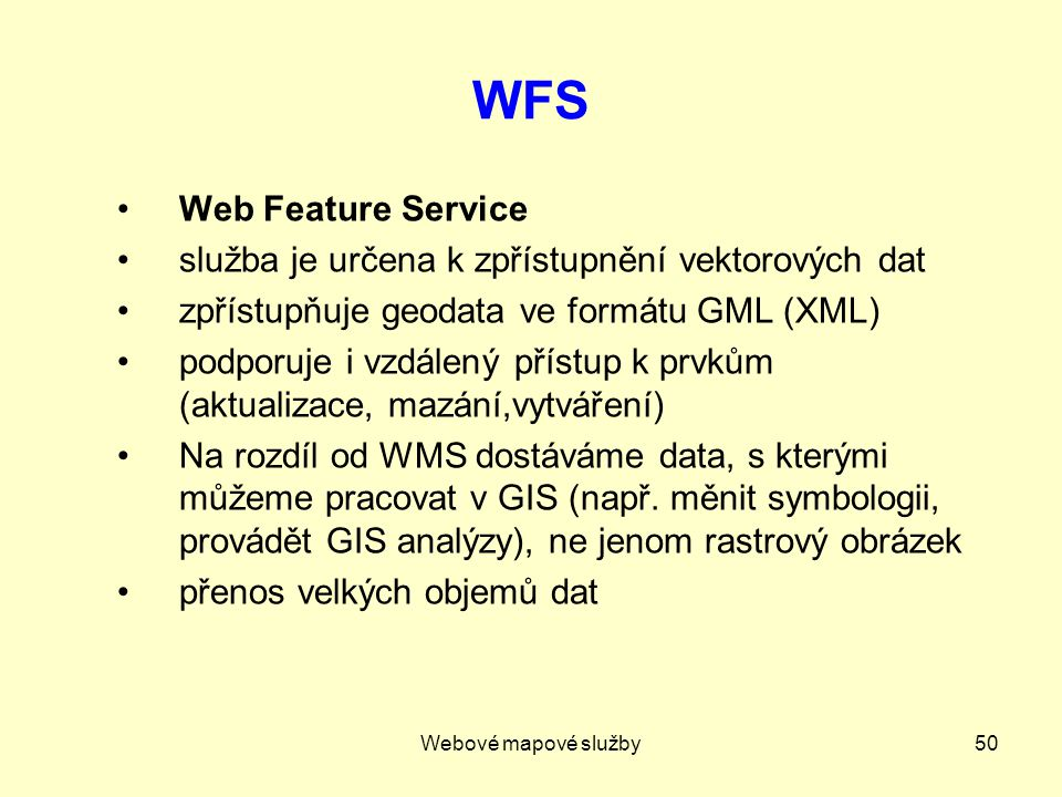 WFS Web Feature Service