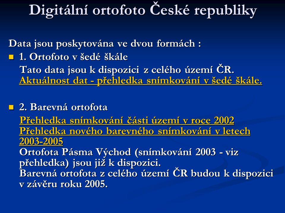 Digitální ortofoto České republiky