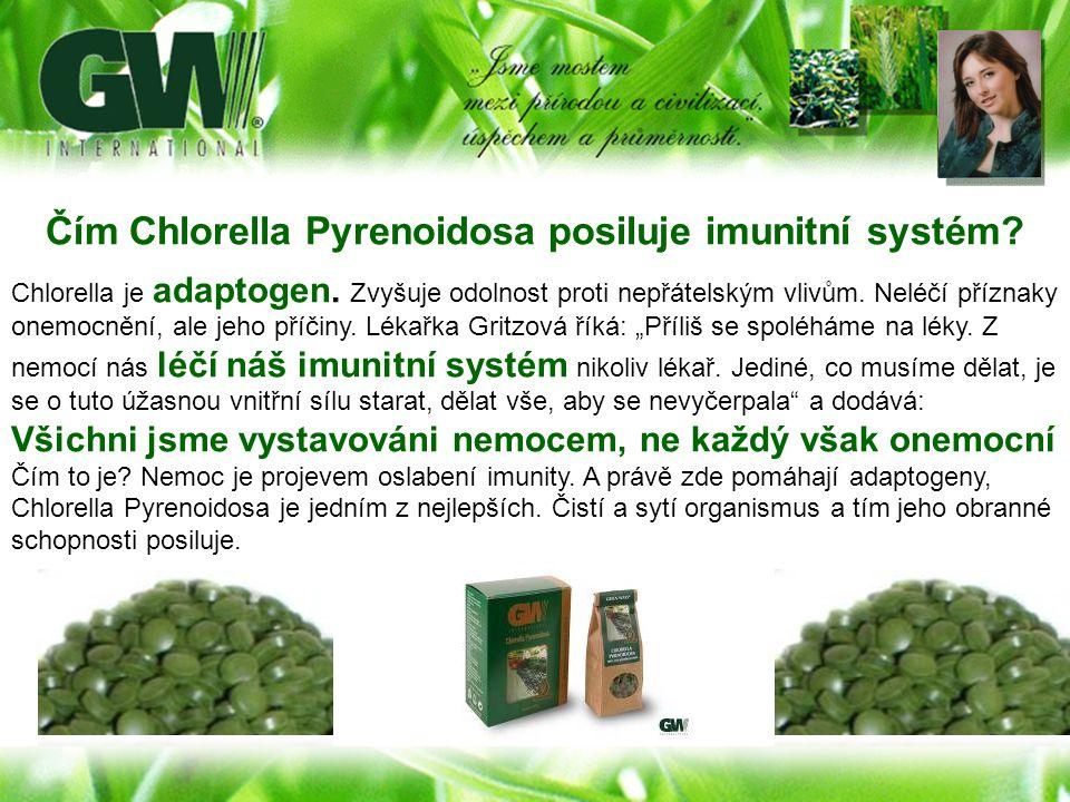 Čím Chlorella Pyrenoidosa posiluje imunitní systém