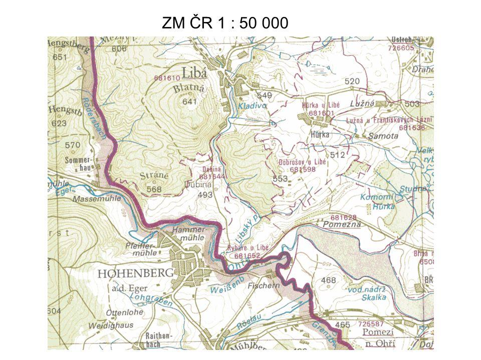 ZM ČR 1 : 50 000 38