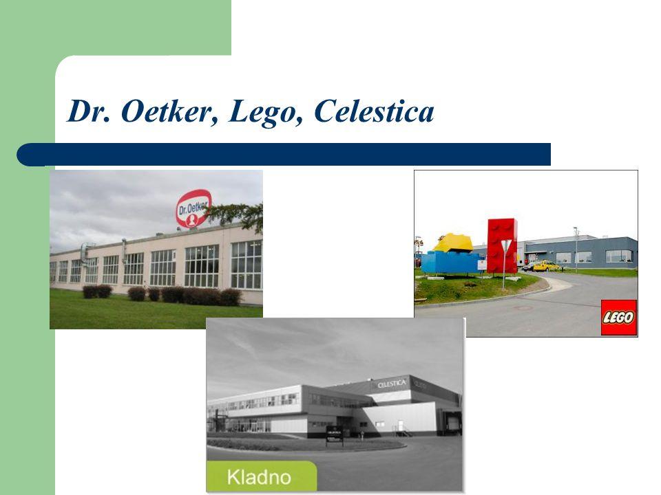 Dr. Oetker, Lego, Celestica