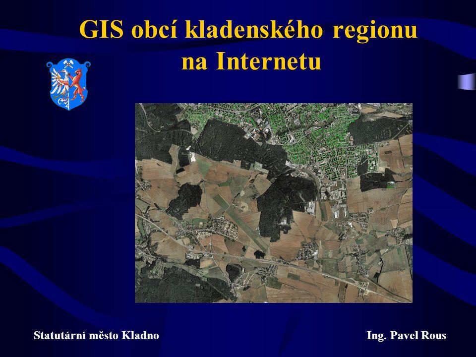 GIS obcí kladenského regionu na Internetu