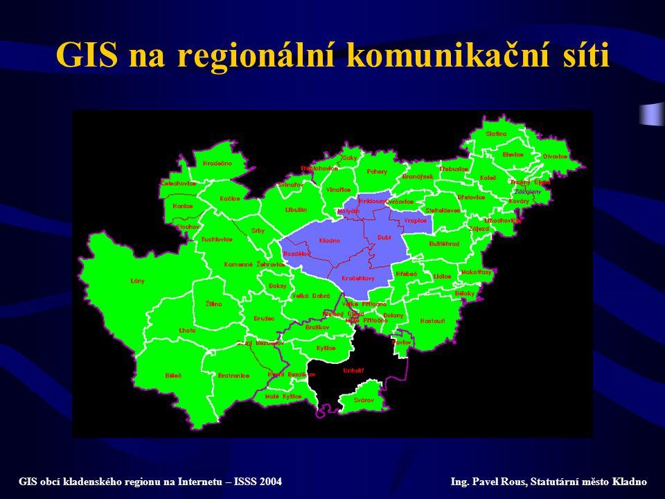 GIS na regionální komunikační síti