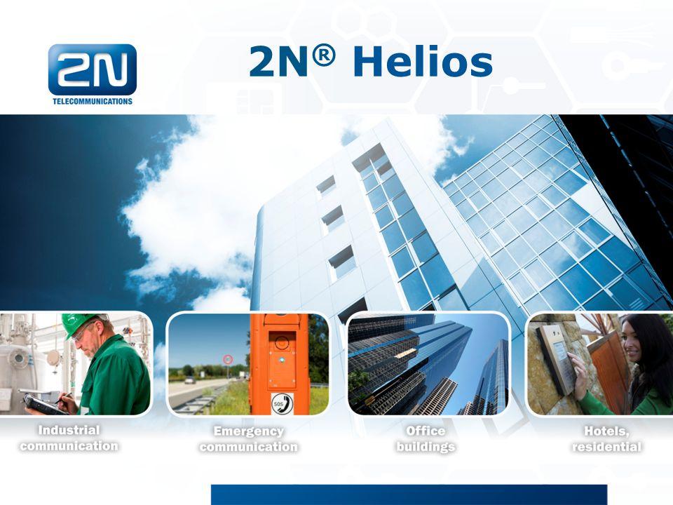 2N® Helios 2N Helios/Helios IP produktová prezentace
