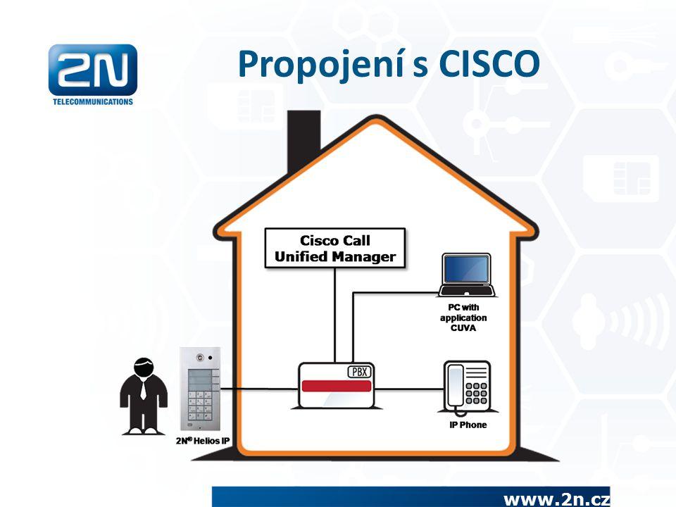 Propojení s CISCO www.2n.cz