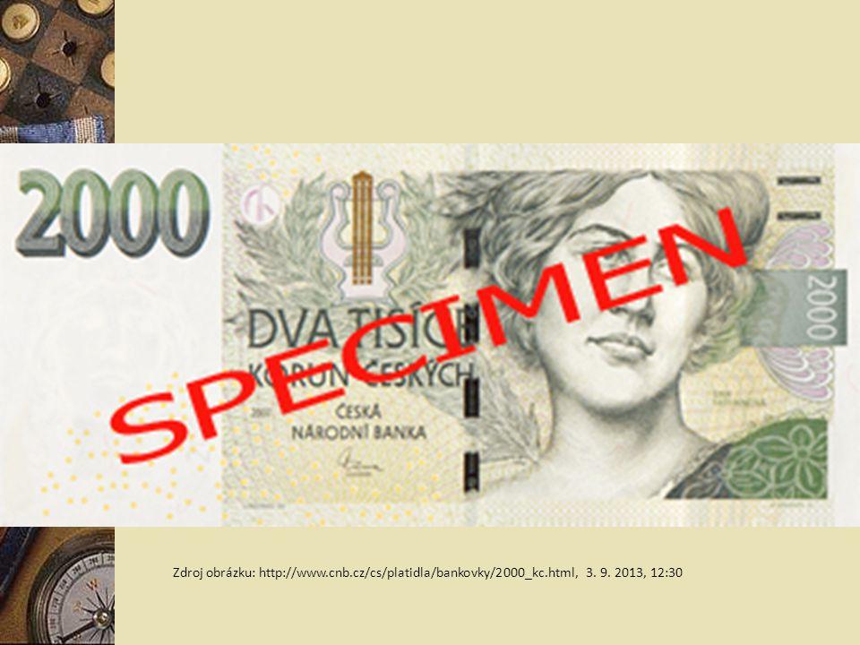Zdroj obrázku: http://www. cnb. cz/cs/platidla/bankovky/2000_kc