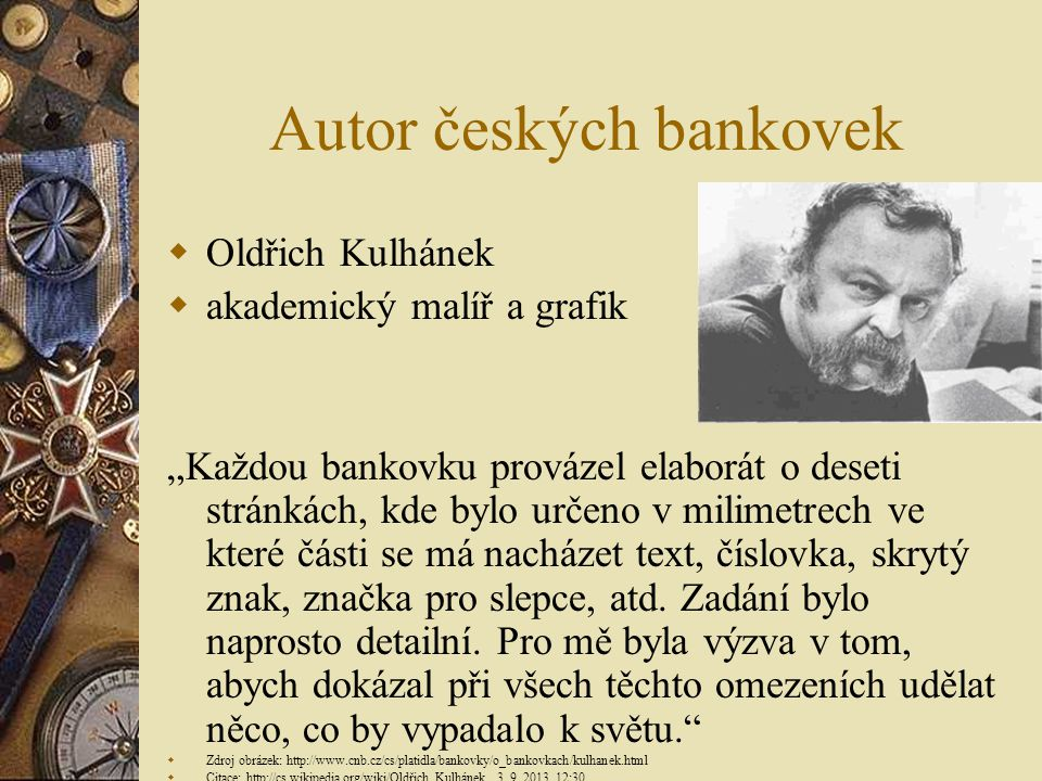 Autor českých bankovek