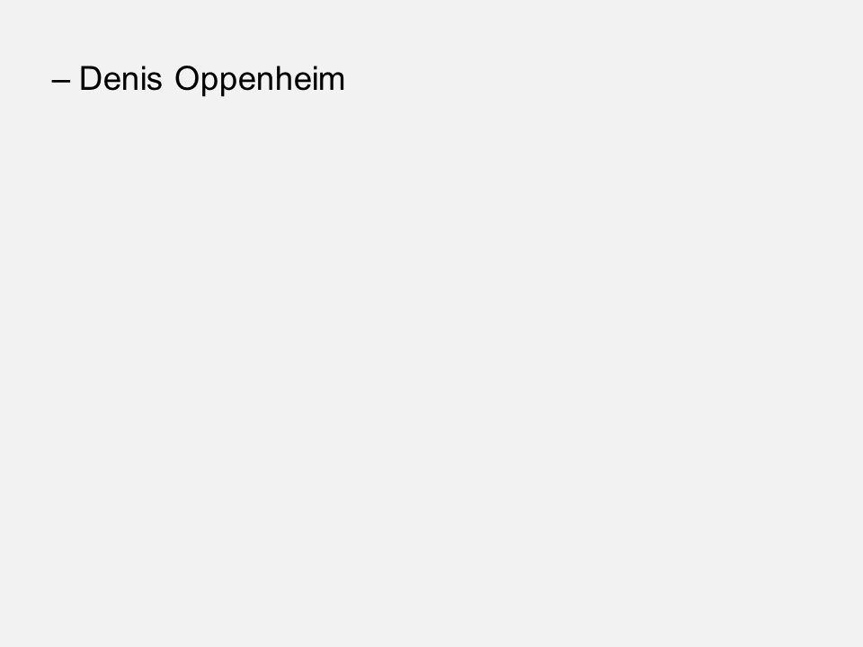 Denis Oppenheim