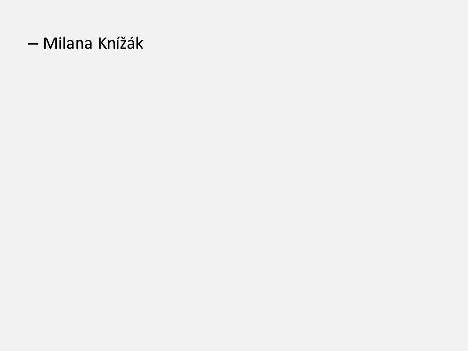 Milana Knížák