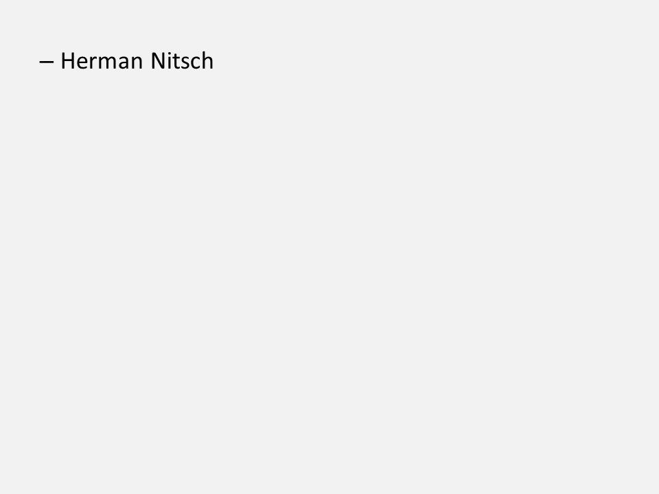 Herman Nitsch