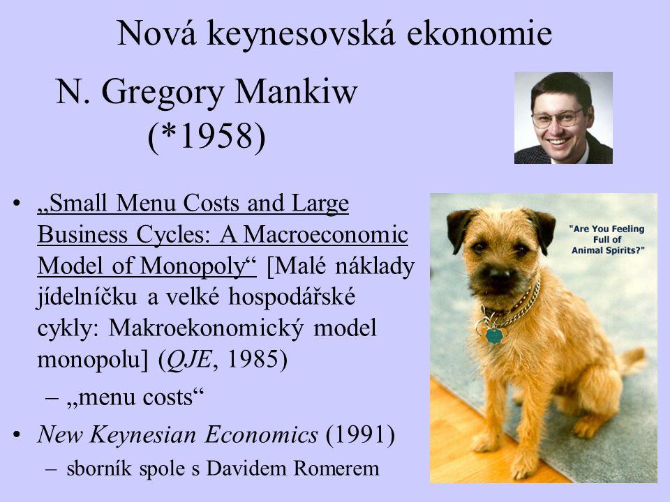 Nová keynesovská ekonomie