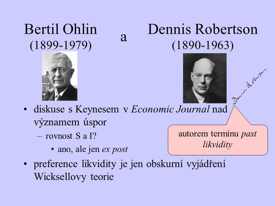 autorem termínu past likvidity