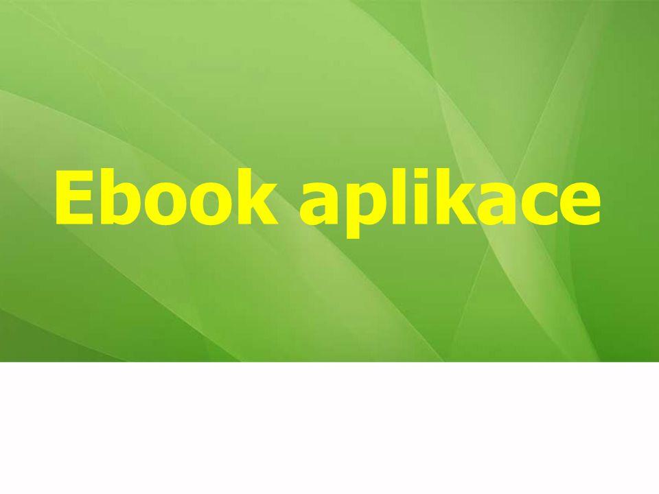 Ebook aplikace