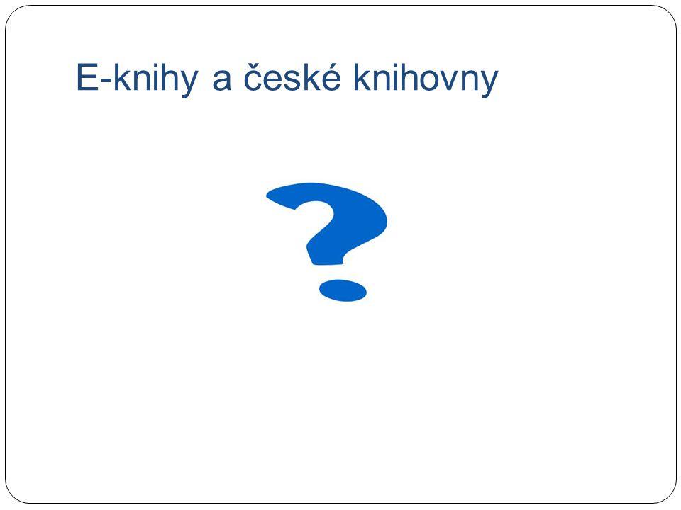 E-knihy a české knihovny