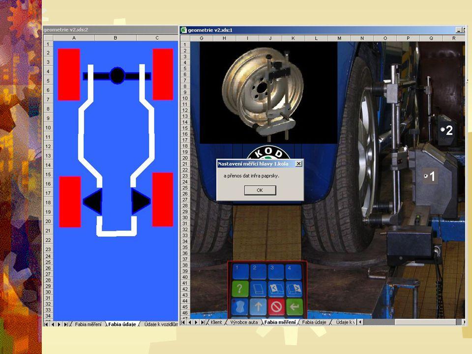 Při vytváření programových kódů (maker) v Microsoft Excel jsme použili nahrávání maker.