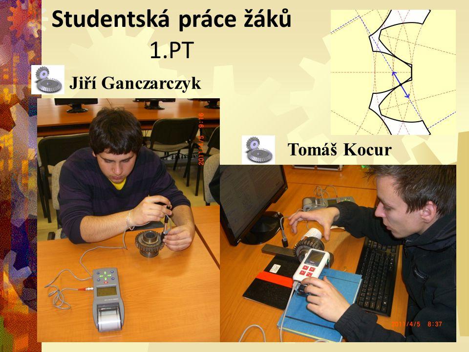 Studentská práce žáků 1.PT