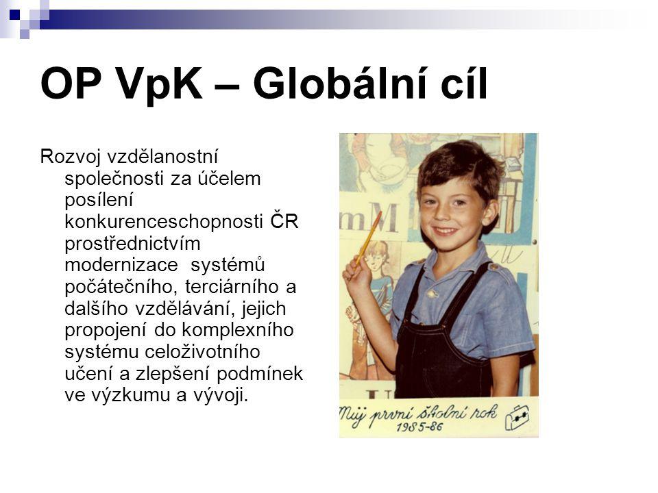 OP VpK – Globální cíl