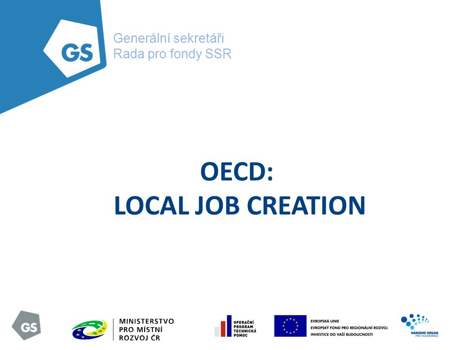 OECD: LOCAL JOB CREATION