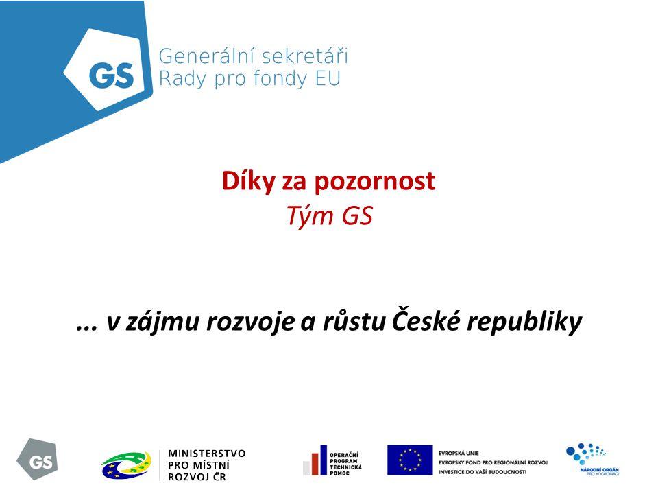 ... v zájmu rozvoje a růstu České republiky