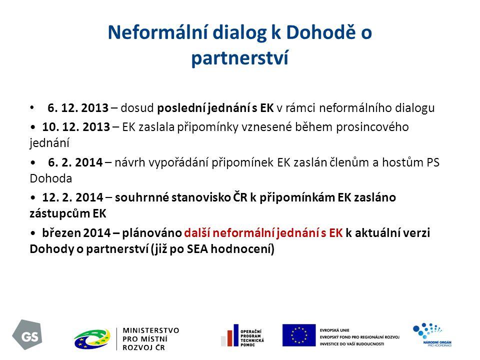 Neformální dialog k Dohodě o partnerství