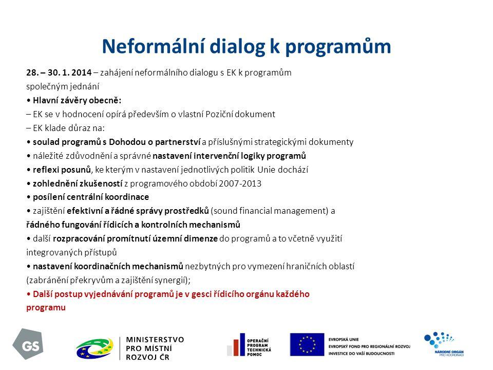 Neformální dialog k programům