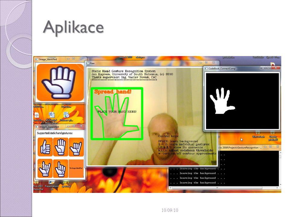 Aplikace 10/09/10